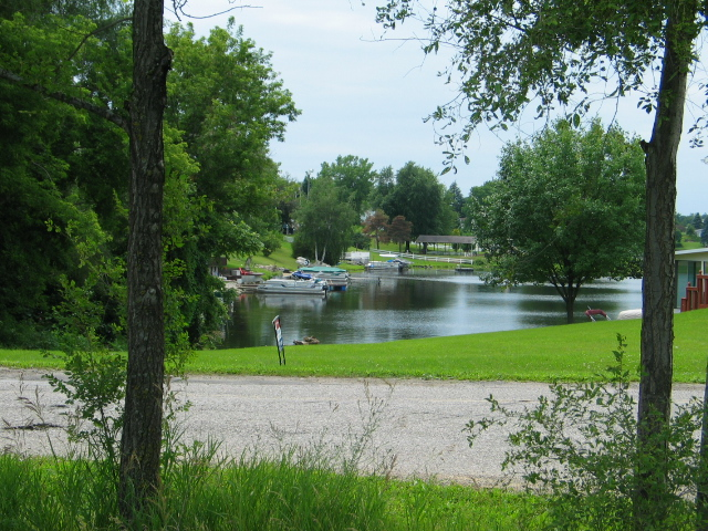Cement City Michigan Cement Plant : Property photos lake somerset lot with view of